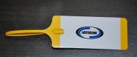 Пластиковая бирки для ключей, дизайн клиента. АвтоДом