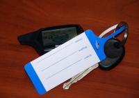 Использование бирок для ключей СТО.