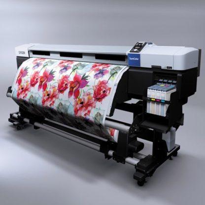 Рулонная печать на ткани