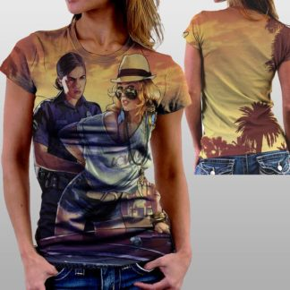 """Женские футболки с полной запечаткой- """"Bolivar Lady TotalPRINT"""""""