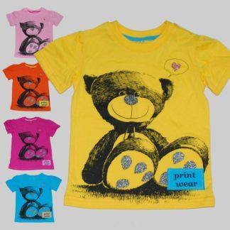 Футболка детская с принтом — Bolivar Kids «Медведь»