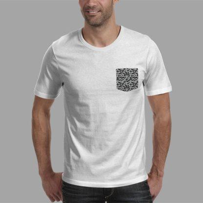 Футболка мужская с карманом - Bolivar Style Poke